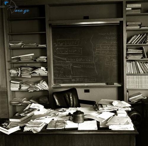 ალბეტ აინშაინის სამუშაო მაგიდა